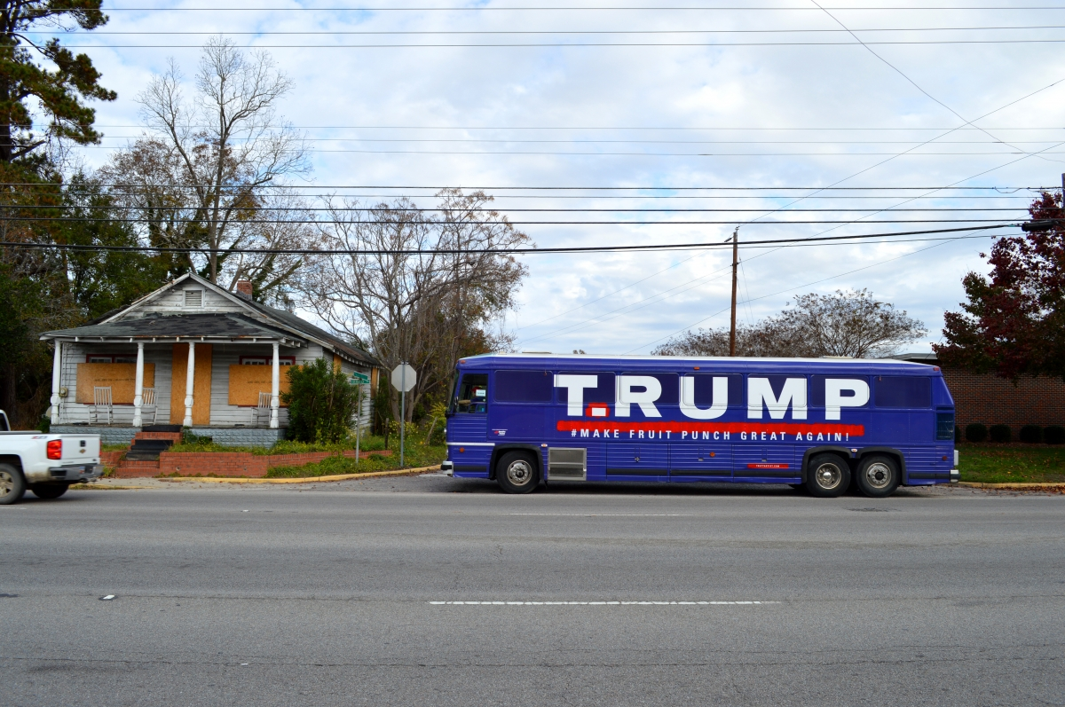 T.RUMP Bus in Manning, South Carolina